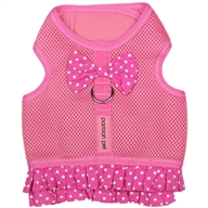 Polka Dot Harness Pink Dress