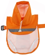 Orange Dog Raincoat