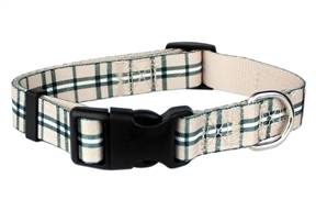 Scottish Plaid Collar Khaki
