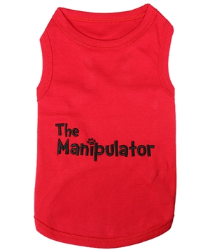 manipulator dog shirt