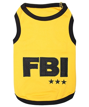 fbi dog shirt