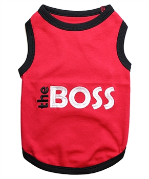 boss dog shirt