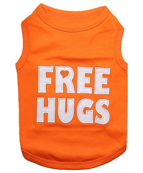 free hugs dog shirt