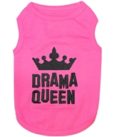 drama queen dog shirt