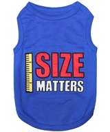 size matters dog shirt