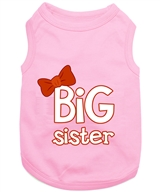 big sister dog shirt