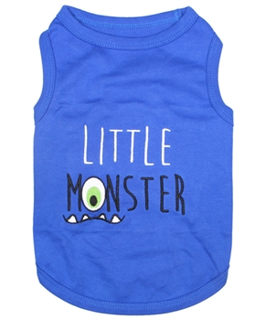 little monster dog shirt