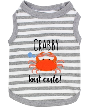 Crab Tee dog shirt