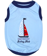 Sailing Club dog shirt