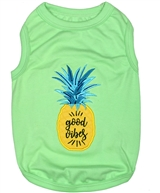 Pineapple dog shirt
