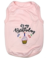Birthday Girl dog shirt