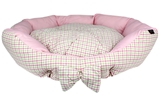 pinkberry plaid bed