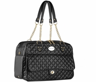 parisian pet london quilted carrier