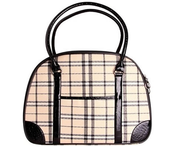 parisian pet milan plaid carrier
