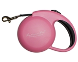 mini pink retractable leash