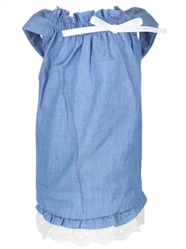 tunic country dress denim