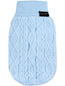 Cable Knit Sweater Powder Blue