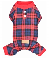 Scottish Pajama Red Plaid