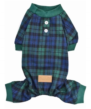 Scottish Pajama Green Plaid