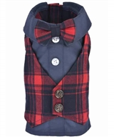 Scottish Tuxedo Red Plaid