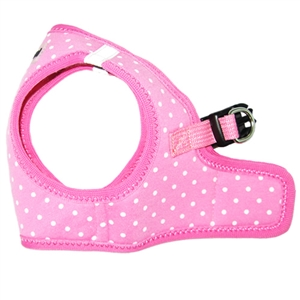 step-in harness pink