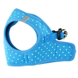 step-in harness blue