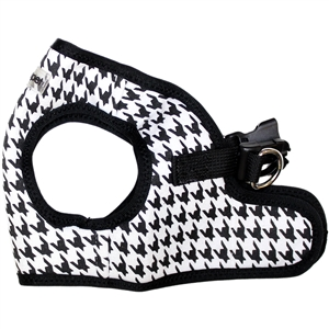 step-in black houndstooth