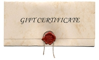 Couples Massage Gift Certificate