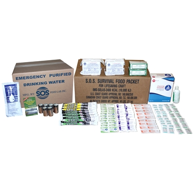 Refill Kit for 10 Person Survival Kit