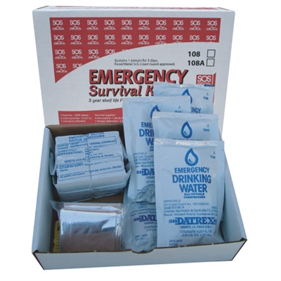 Survival Box Kit - No First Aid