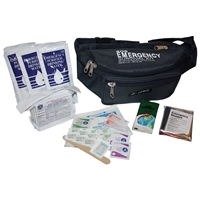 1-Person Fannypack Emergency Kit With First Aid Supplies