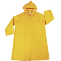 Rain Coat with Hood - XX-Large