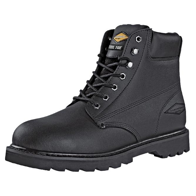 Size 7.5 Diamondback Steel Toe Boot