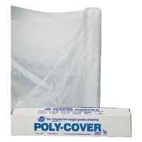 Clear Plastic Sheeting - 10 ft x 50 ft