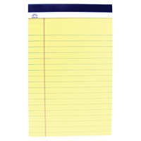 "Legal Pads - 8 1/2"" x 11 3/4"" - 3-Pack"