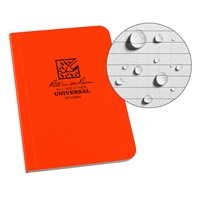 All Weather Soft Cover Book 3x5 OR54 Orange