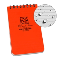 All Weather Book 3x5 #OR35 Orange
