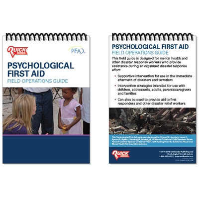 Psychological First Aid Field Operations Guide