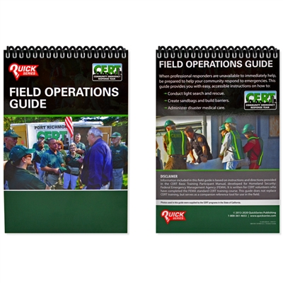 Quick CERT Field Operations Guide