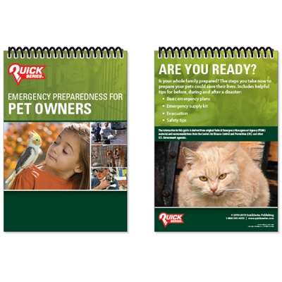 Pet Owners Preparedness Guide