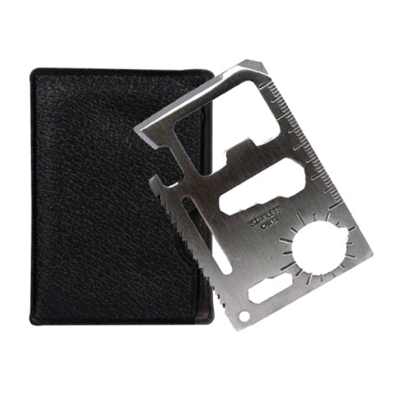 11-in-1 Survival Credit Card Multi Pocket Tool