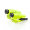 Two ResQMe Keychain Window Breaker / Seatbelt Cutters - Hi Vis Lime