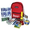 1 Person Deluxe Emergency Kit in a backpack with a 3 day supply