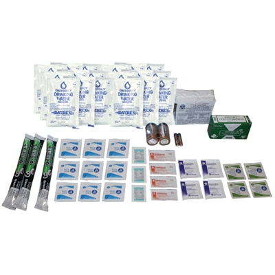 1-Person Deluxe Emergency Survival Kit Refill