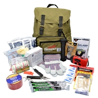 Zombie Survival Kit Deluxe for one person 3 days with a 5 year shelf life