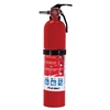 Rechargeable Fire Extinguisher 1A 10BC Red