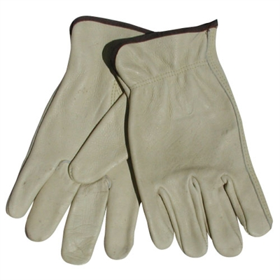Leather Driver Gloves - Medium - 12-Pack