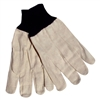 Cotton Canvas Gloves - Large 12 Pack