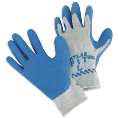 Coated Cotton Knit Gloves