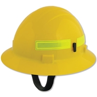 Wildlands Fire Helmet - Full Brim - Yellow